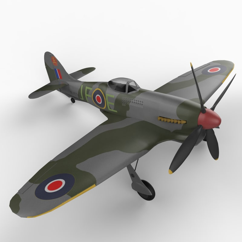 3d model of purchase tempest ww2 aircraft