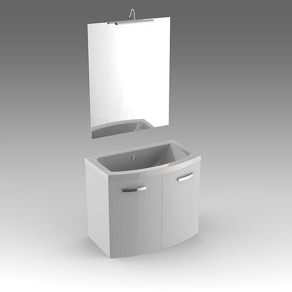 glass wash-basin cabinets x