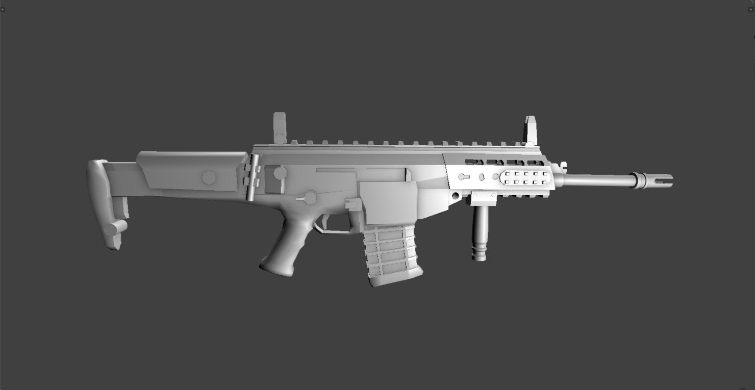 3ds weapons arx 200