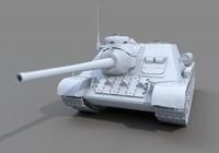 3d ussr tank su
