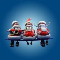 musical santa 3d ma