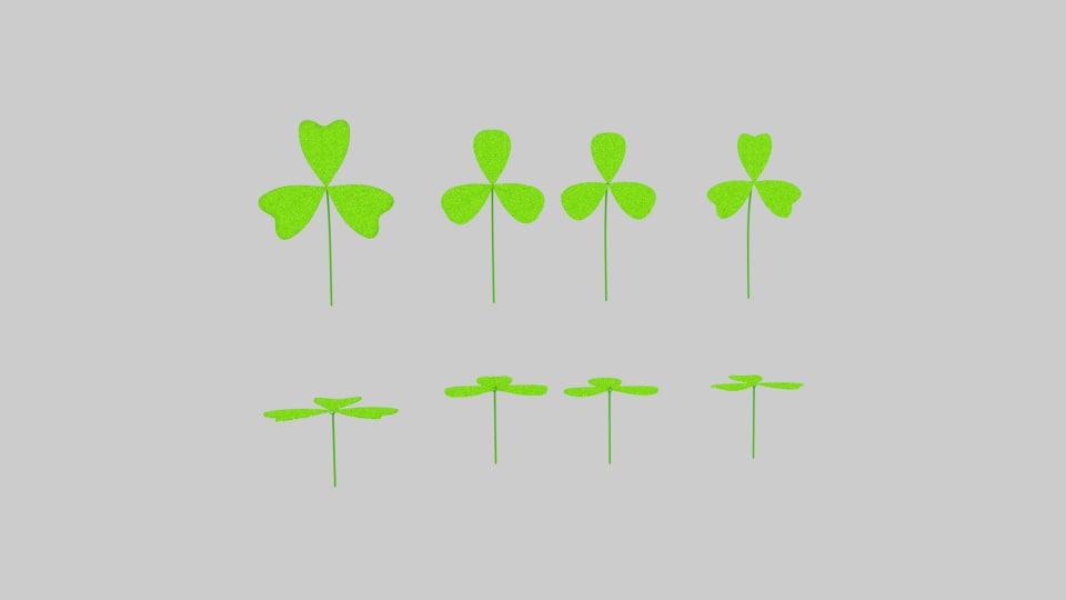 leaf clover 3ds