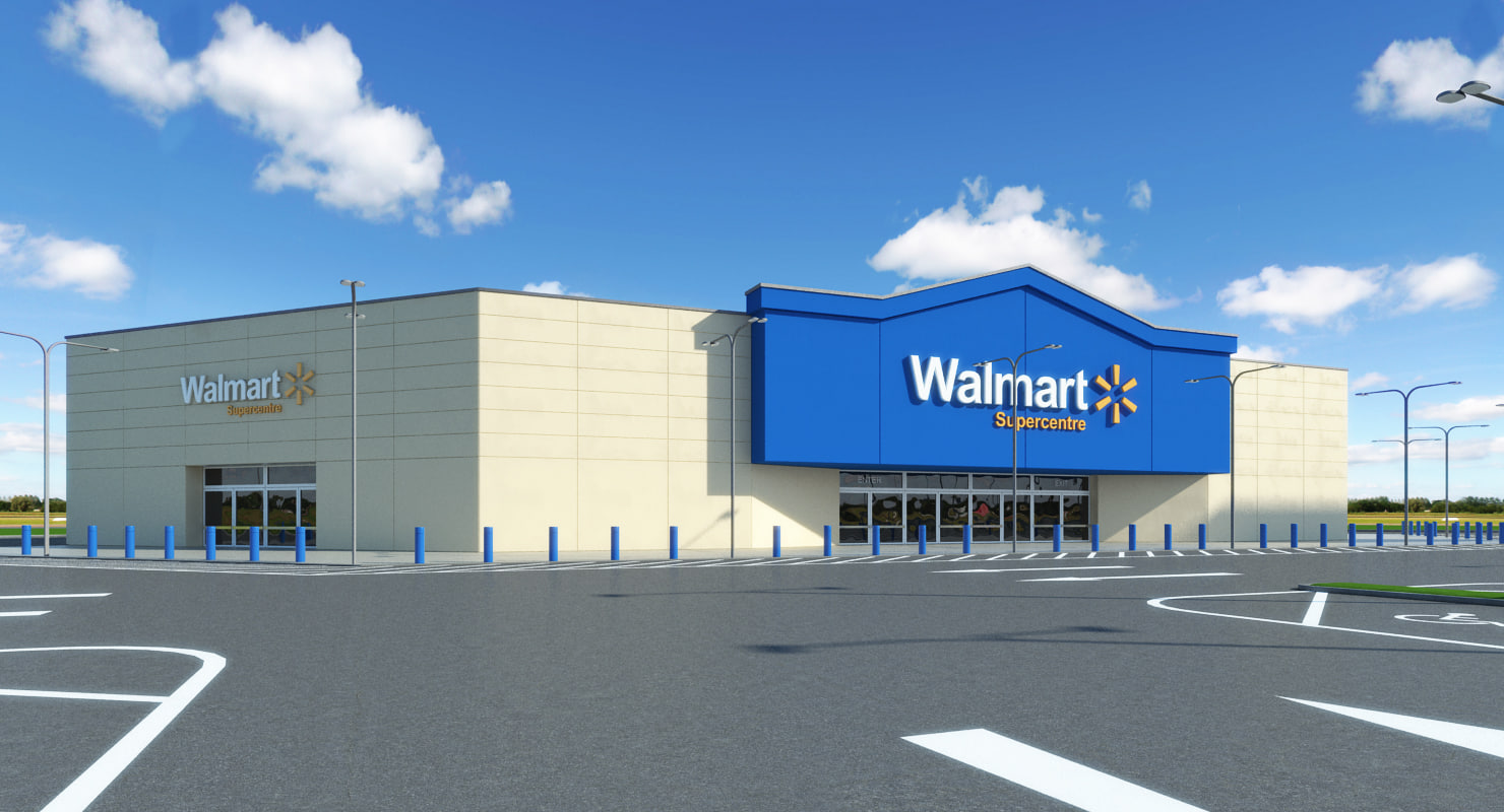 3D Walmart Models | TurboSquid