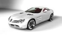 3d model car merceds mclaren slr