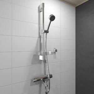 3d shower nova apollo model