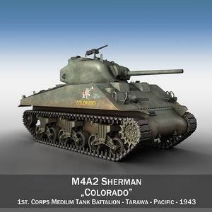 m4a2 sherman - m4 3d 3ds