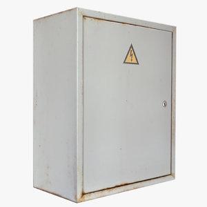 3d electric cabinet model