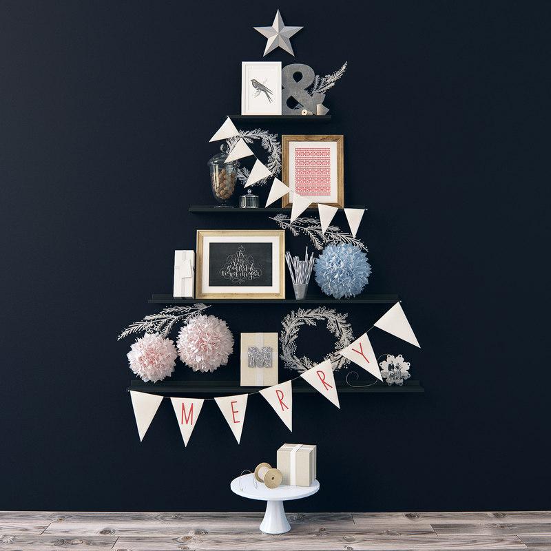 alternative christmas tree 3d max