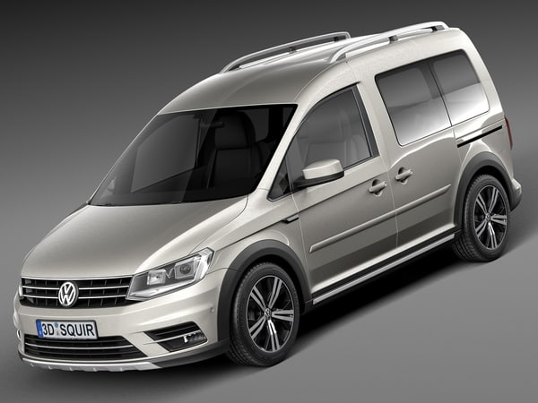 3d 2016 volkswagen caddy