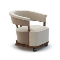 armchair lady giorgetti 3d max