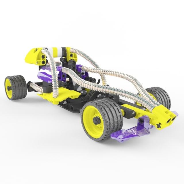 3d car lego champion model