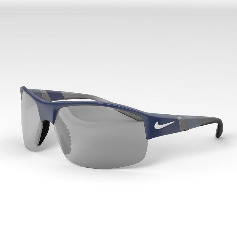 3d nike x2 sunglasses model