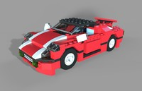 maya super speedster lego