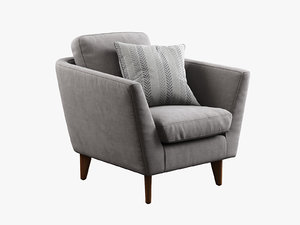 sits mynta armchair 3d model