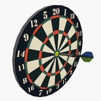 3d model of dart