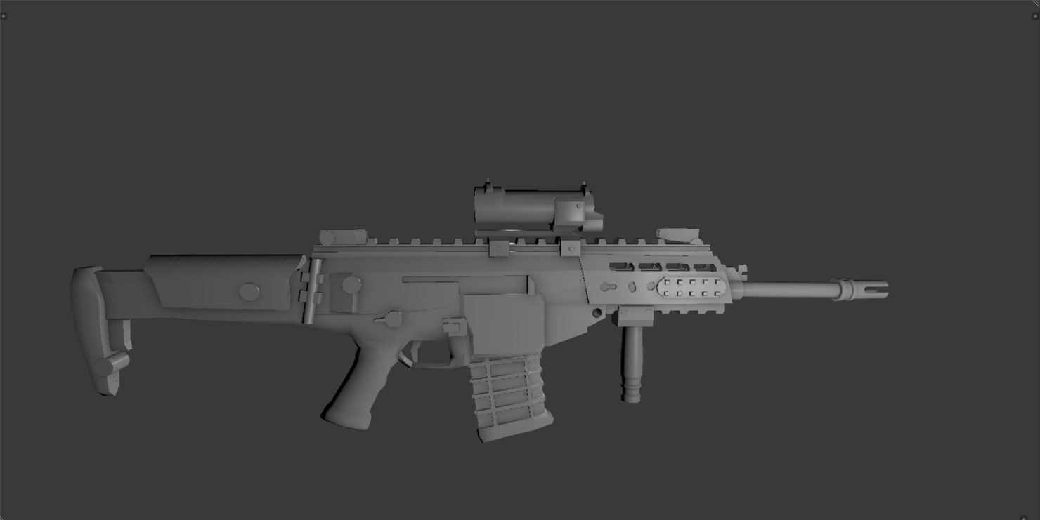 3ds arx 200 scope rifle