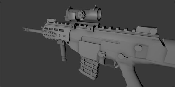 3ds max scope marksman