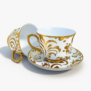 obj tea set