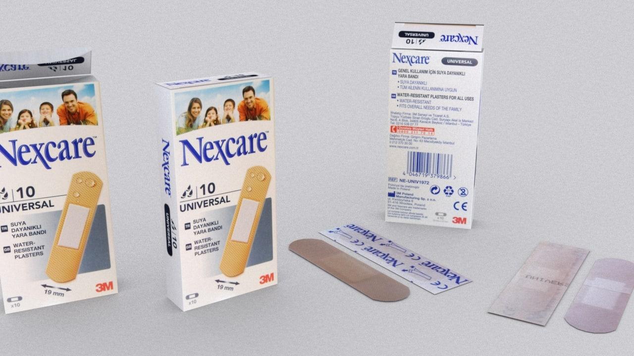 plaster box 3d model
