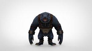 monster character obj