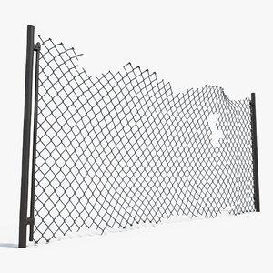3d model damage netting