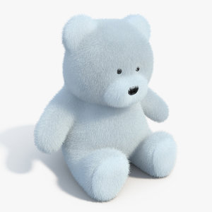 3d model realistic teddy bear