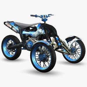 3d ready trike -
