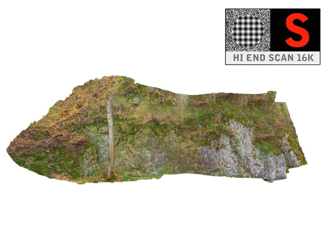 climbing rock 16k 3d model