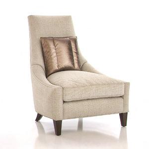 3d baker bel-air lounge chair