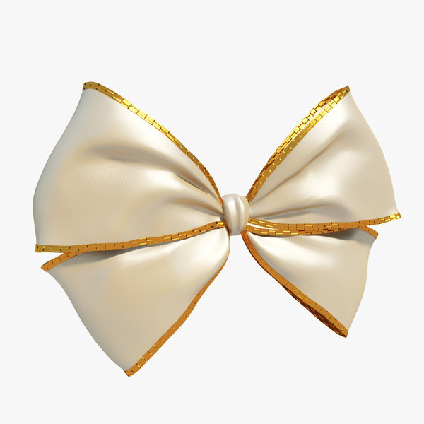 3d max beige bow