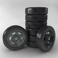 3dsmax wheel car lada