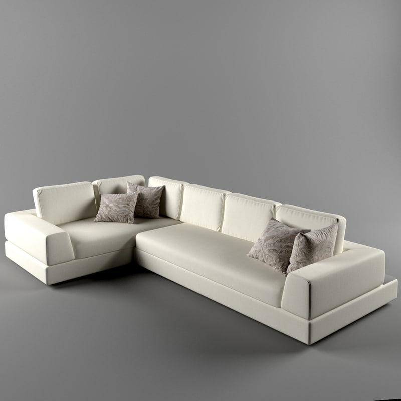 plat arketipo sofa 3d model