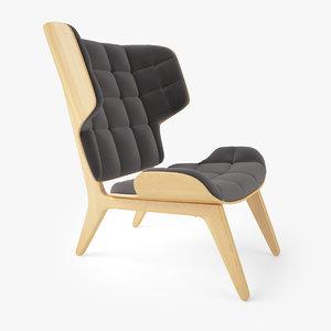 3dsmax mammoth chair norr 11