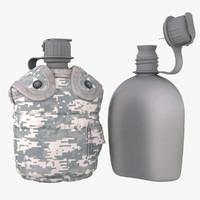 1QT Military Canteen 2 (Digital)