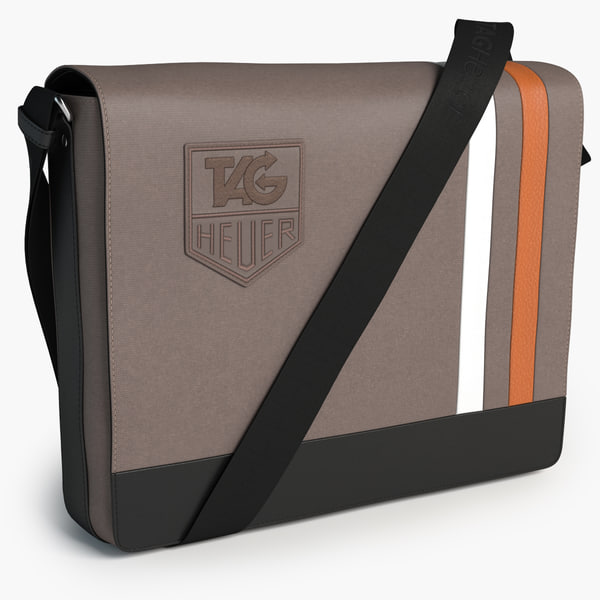 3d tag heuer messenger bag