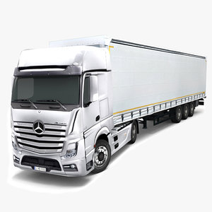 mercedes actros semi trailer max