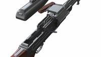 Machine gun Kalashnikov (PK modification)