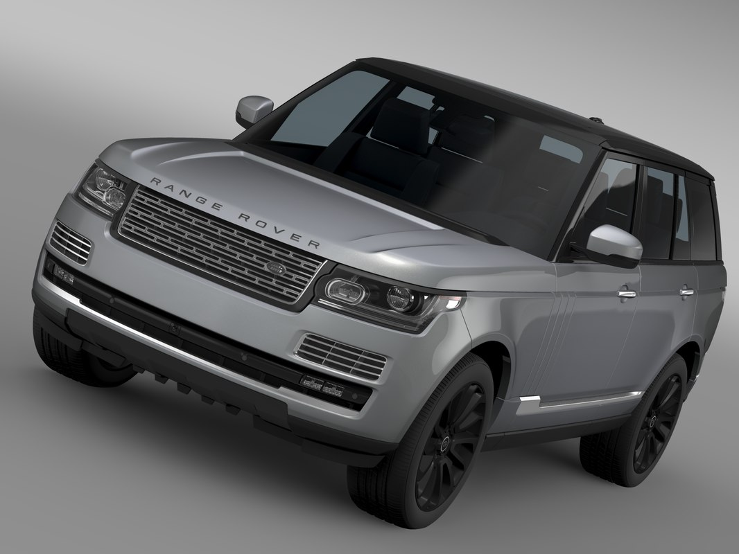 3d range rover svautobiography l405 model