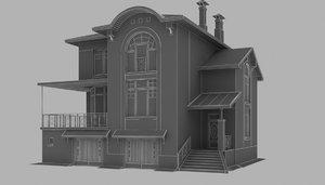 3d storey house