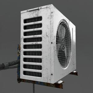 3d old exterior model