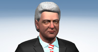 bill clinton 3d model
