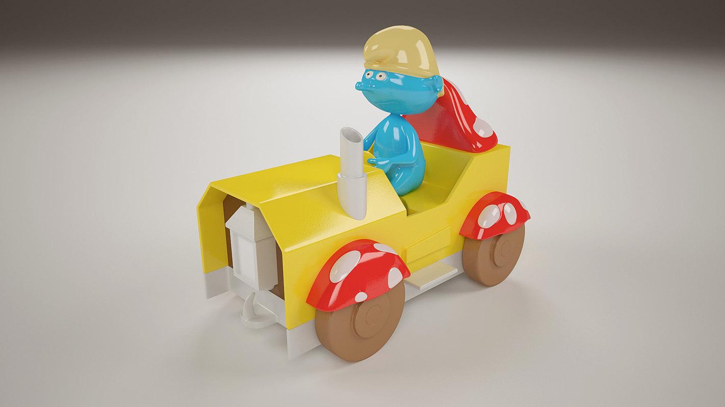 smurf toy child kid x