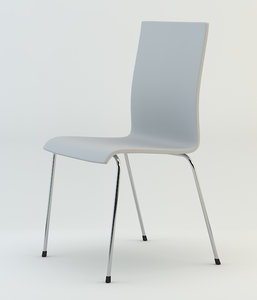 3d model kuadra chair 1151