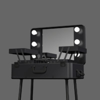 3d model makeup table