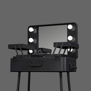 3d model makeup table