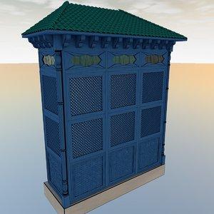 3d model tunisian window