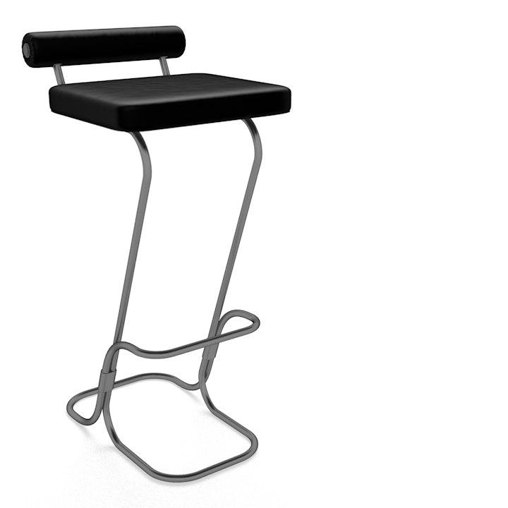 bar stool 3d c4d