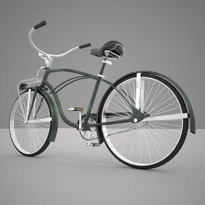 obj bicycle exterior interior