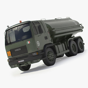 iveco tanker 3ds