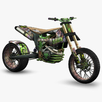ready apocalyptic hill climbing 3d model